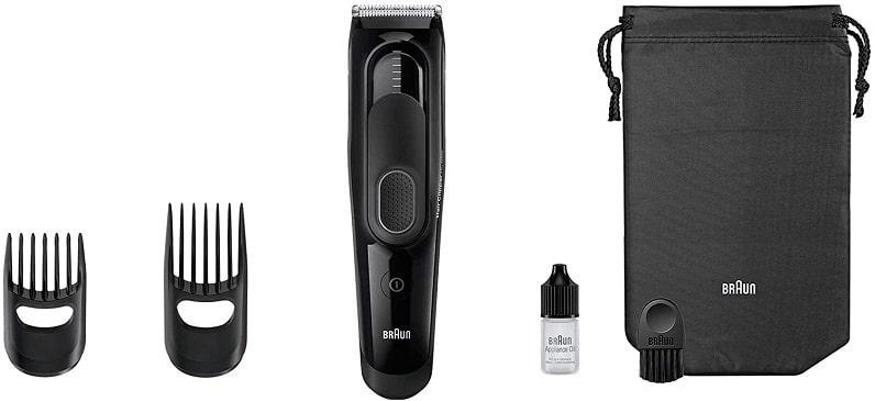Braun-Haarschneider Test